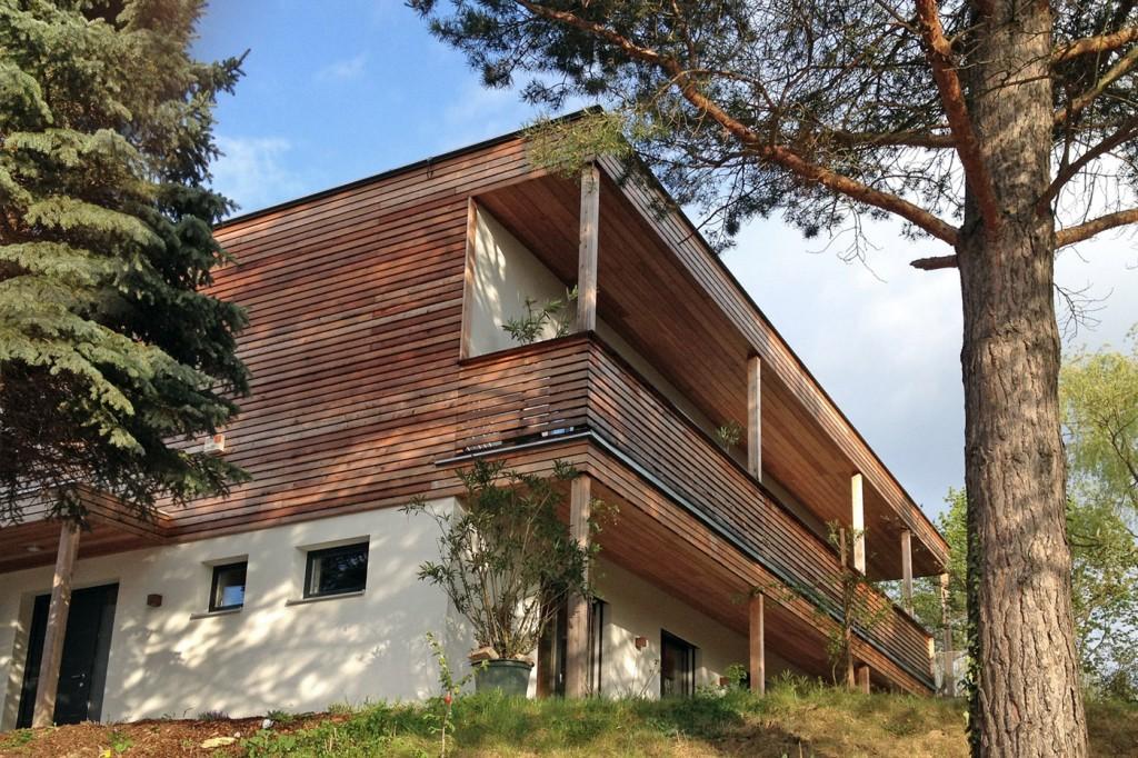 Haus am Hang - Planung und Design von Architekt Stefan Toifl