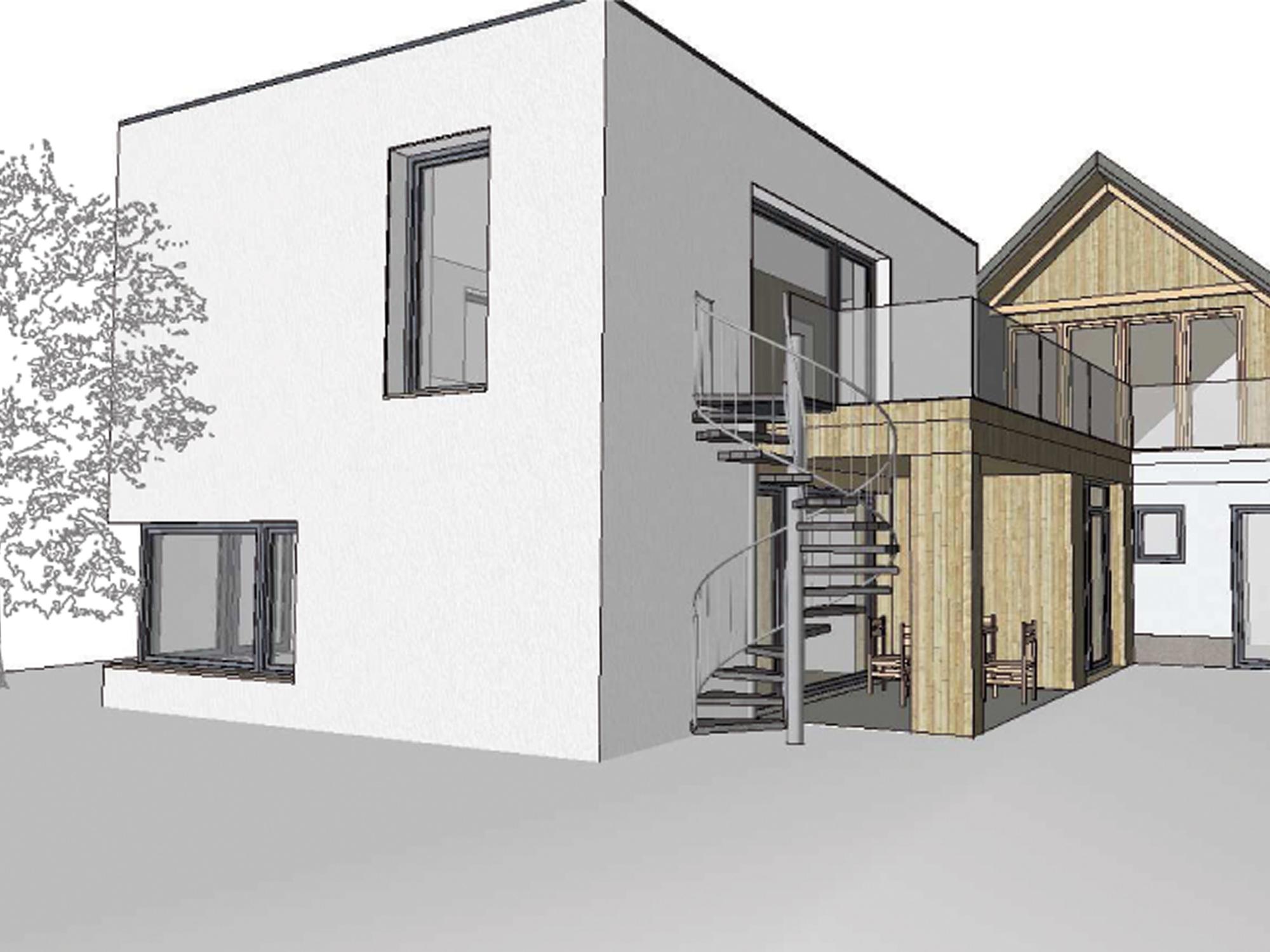 zubau arztordination g architekt stefan toifl. Black Bedroom Furniture Sets. Home Design Ideas